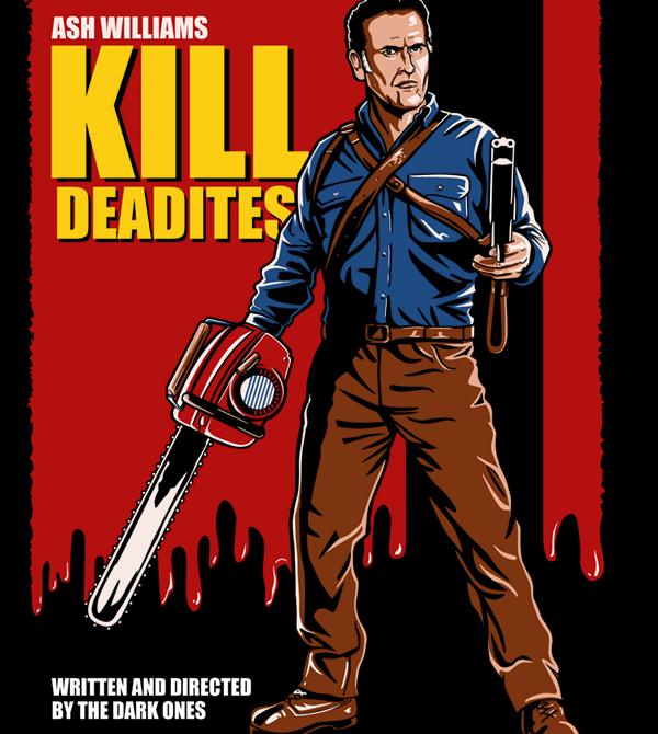 teeVillain: Kill Deadites