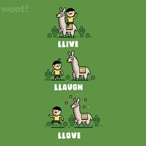 Woot!: Llama Llove