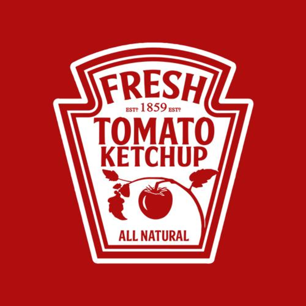 Five Finger Tees: Ketchup Costume T-Shirt