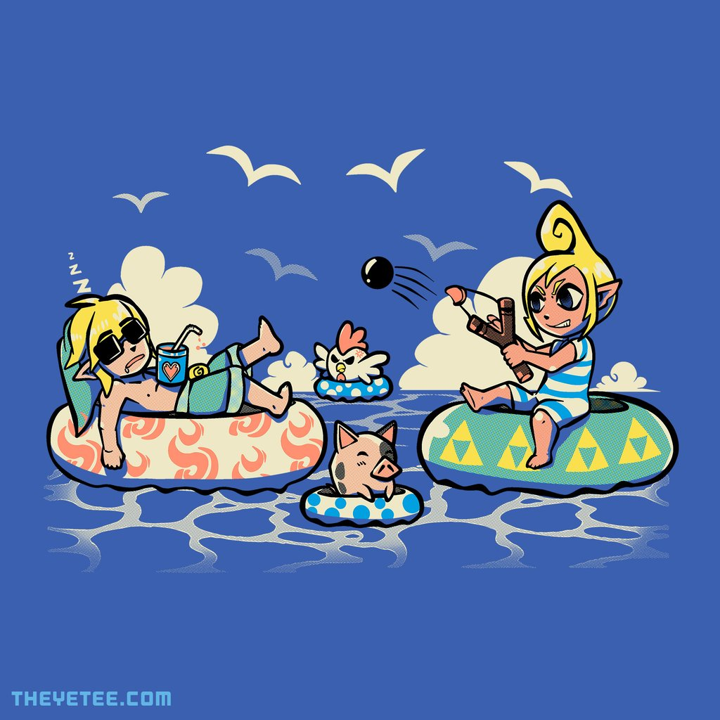 The Yetee: Summer in Hyrule