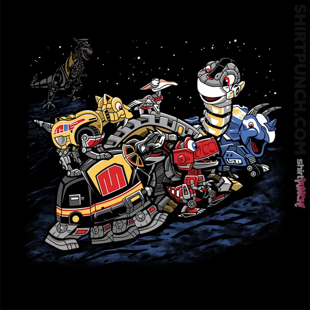ShirtPunch: Zords Before Time