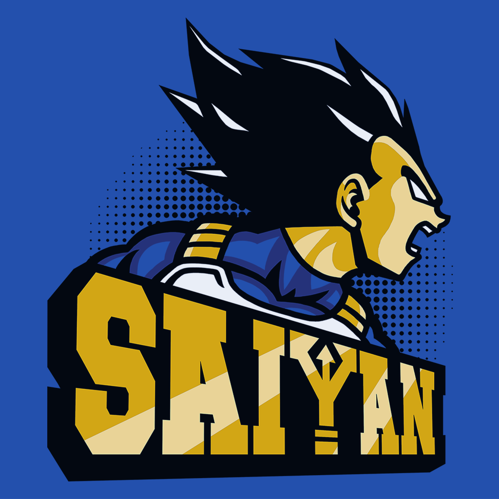 Pop-Up Tee: Team Saiyan
