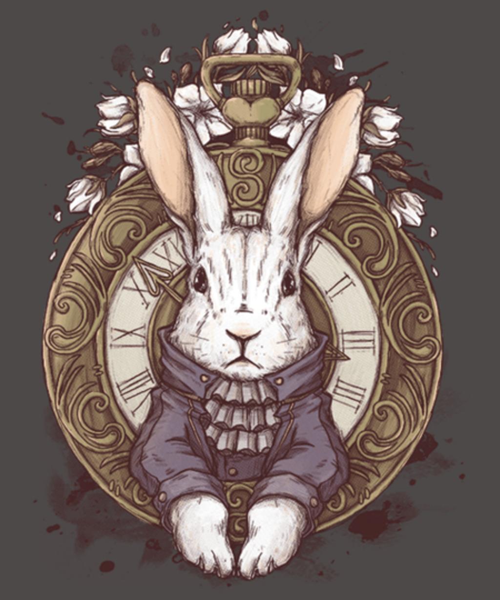 Qwertee: The White Rabbit
