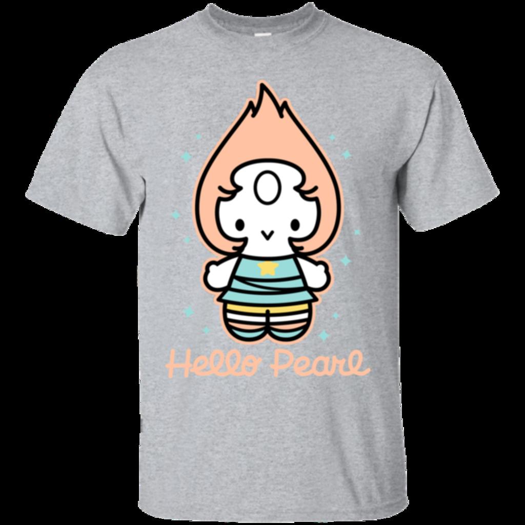 Pop-Up Tee: Hello Pearl