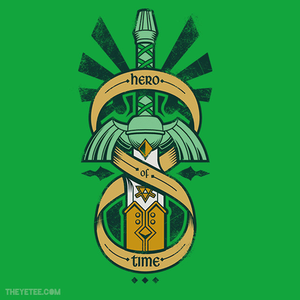 The Yetee: LAST CHANCE: Hero of Time