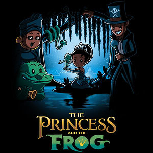 TeeTurtle: Disney The Princess and the Frog