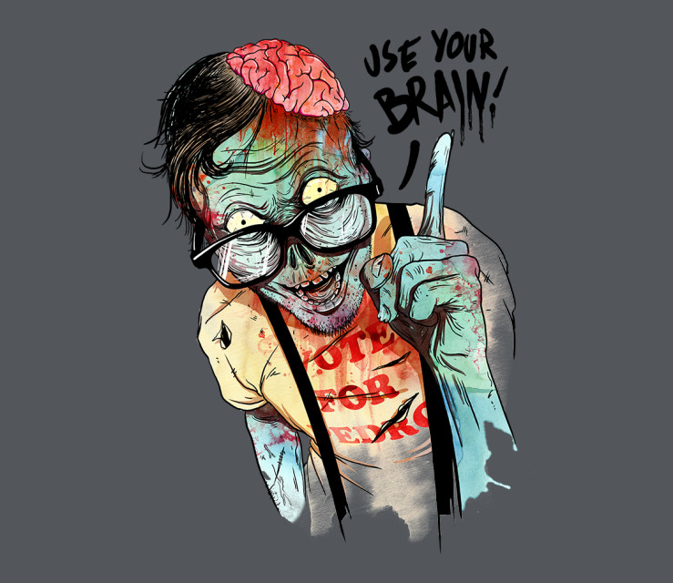 TeeFury: Use Your Brain