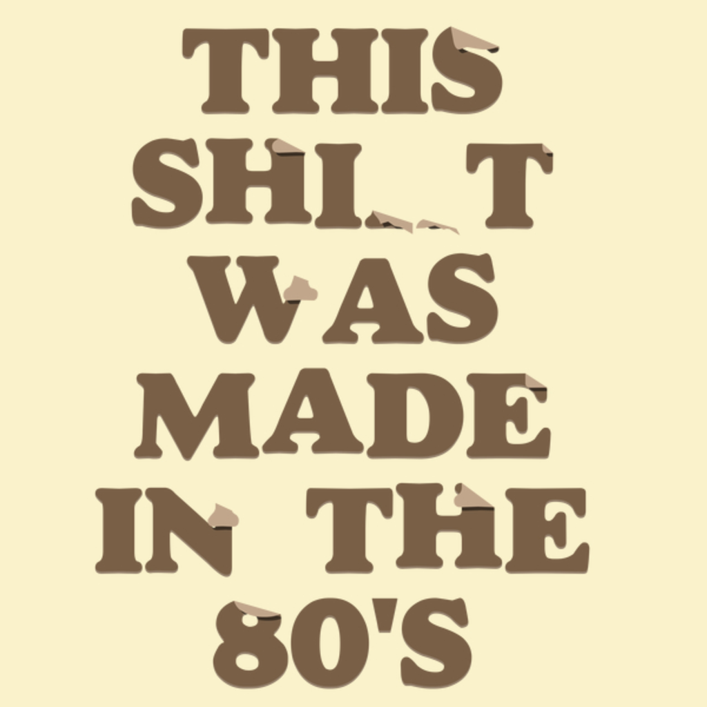 NeatoShop: Made in the 80's (CREAM)