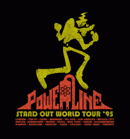 BustedTees: Powerline