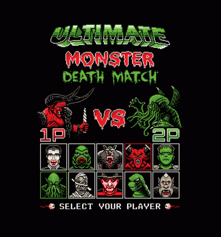 BustedTees: Ultimate Monster