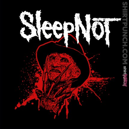 ShirtPunch: Sleep Not