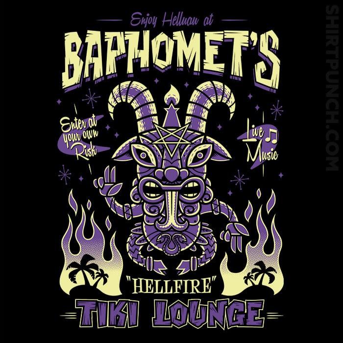 ShirtPunch: Baphomet's Tiki Lounge