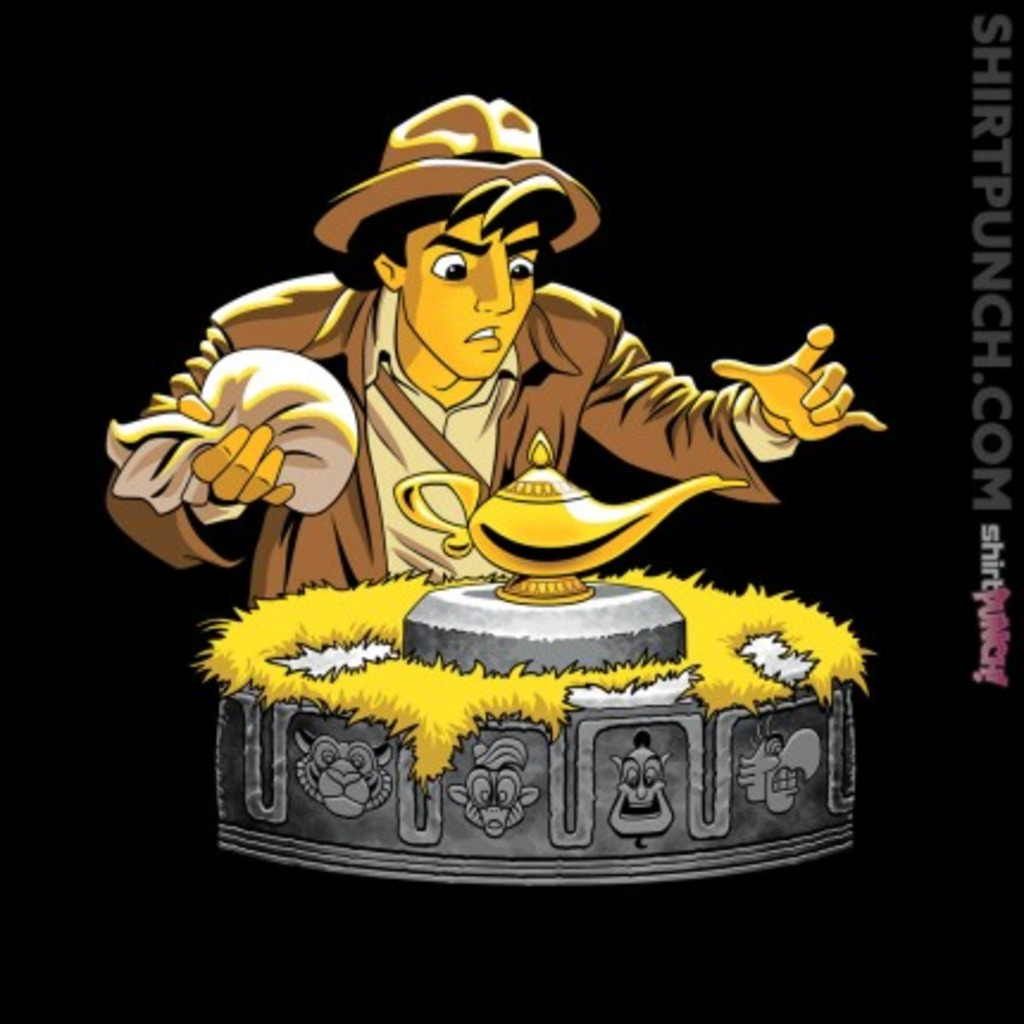ShirtPunch: Raiders of the Lost Lamp