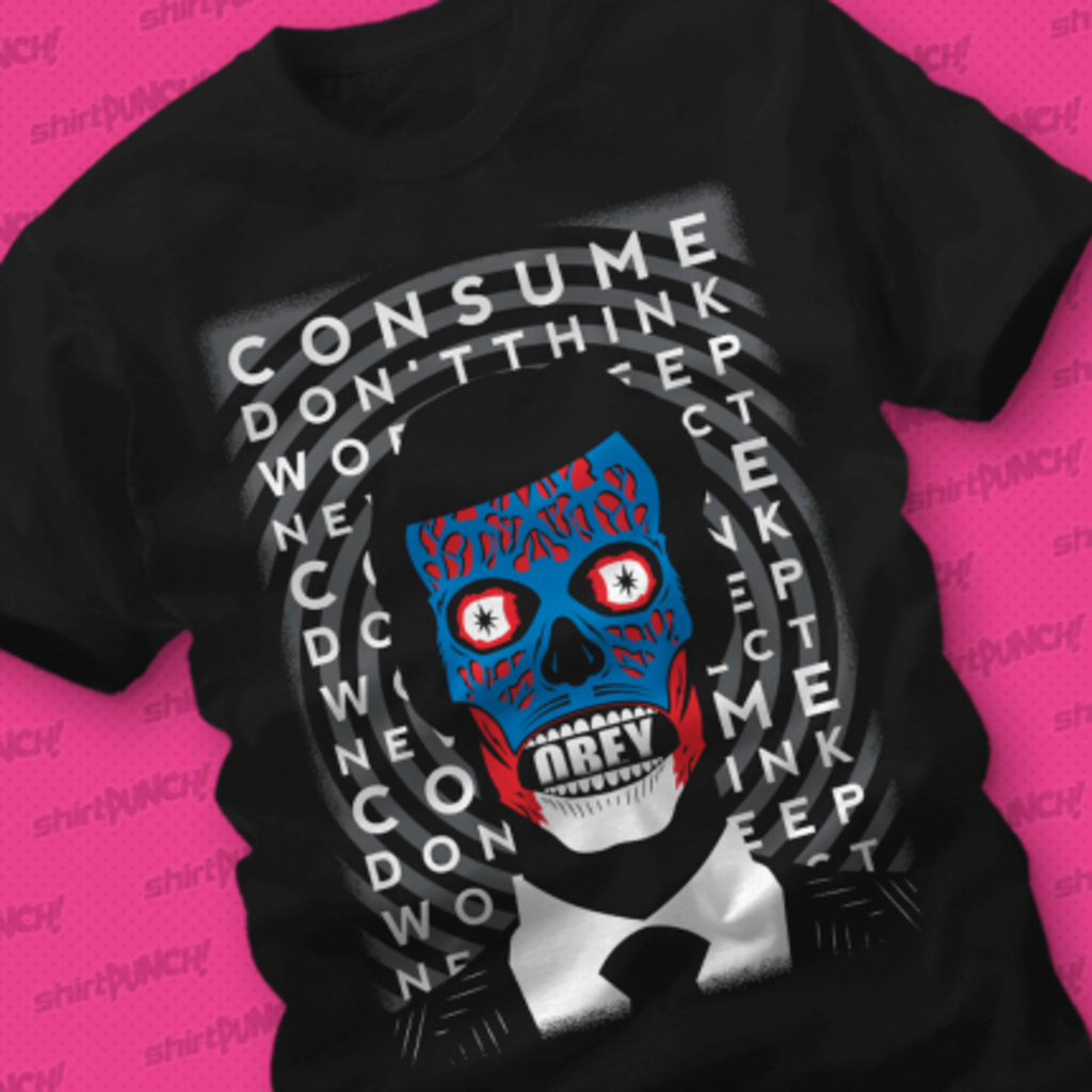 ShirtPunch: Obey