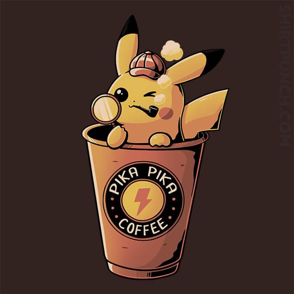 ShirtPunch: Pika Pika Coffee