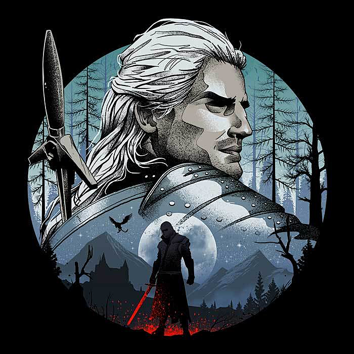 Once Upon a Tee: The Monster Hunter