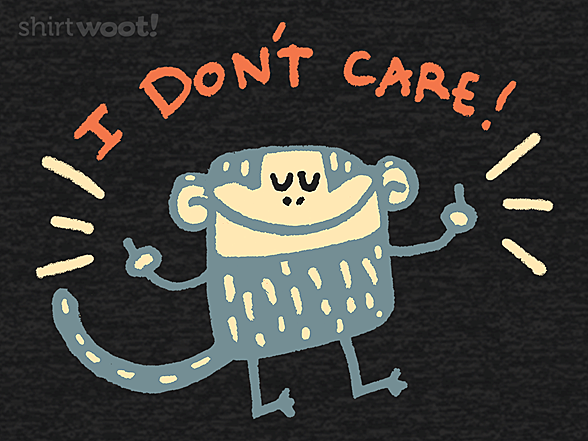 Woot!: Not Your Monkey Business