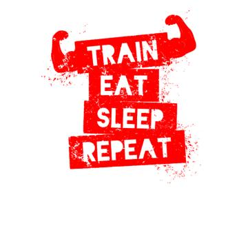 BustedTees: Train Eat Sleep Repeat