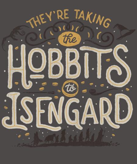 Qwertee: Taking the Hobbits to Isengard