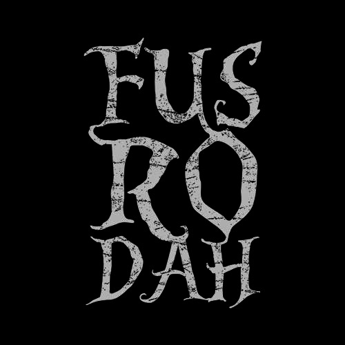Five Finger Tees: Fus Ro Dah T-Shirt