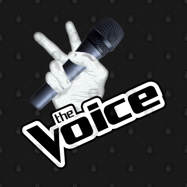 TeePublic: The Voice Hand Mic 2 shadow