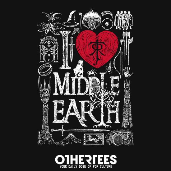 OtherTees: I love Fantasy