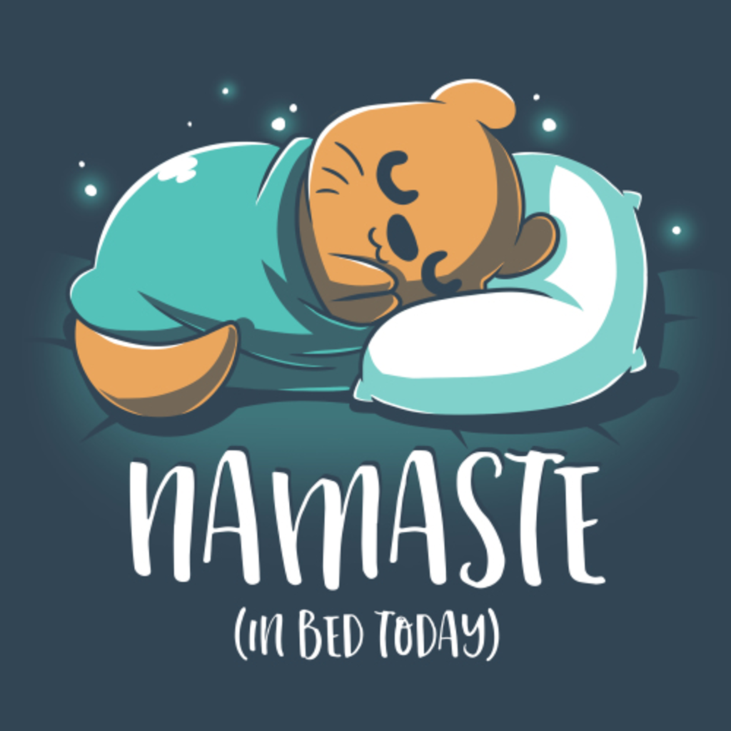 TeeTurtle: Namaste (In Bed Today)