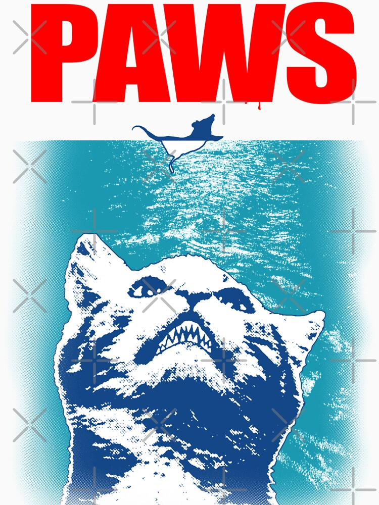 RedBubble: Paws, Cat parody