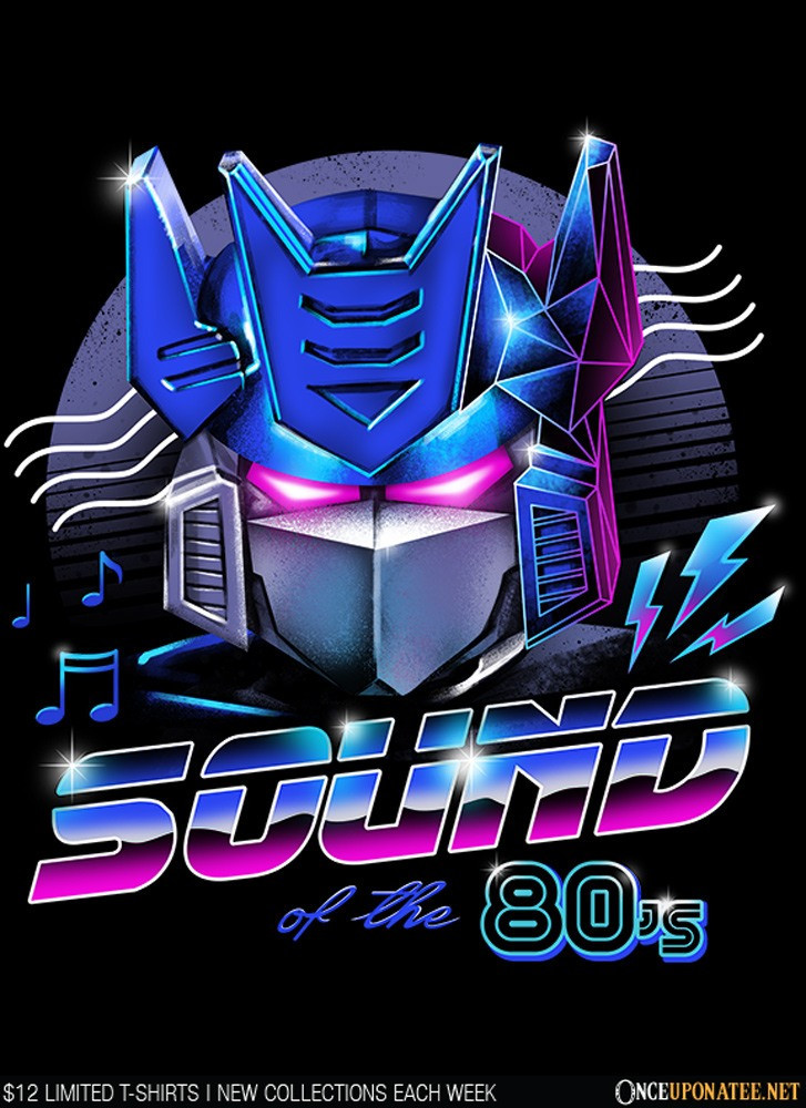 Once Upon a Tee: 80's Sound