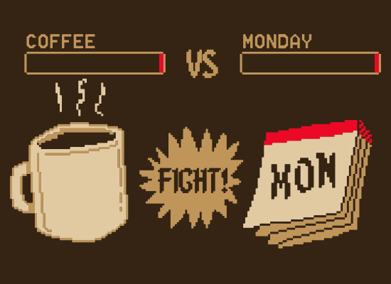 SnorgTees: Coffee vs Monday