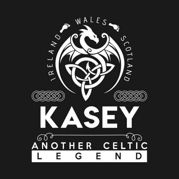 TeePublic: Kasey Name T Shirt - Another Celtic Legend Kasey Dragon Gift Item