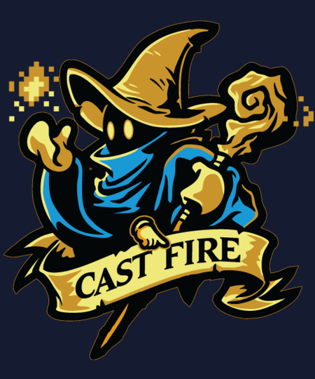Qwertee: Cast Fire