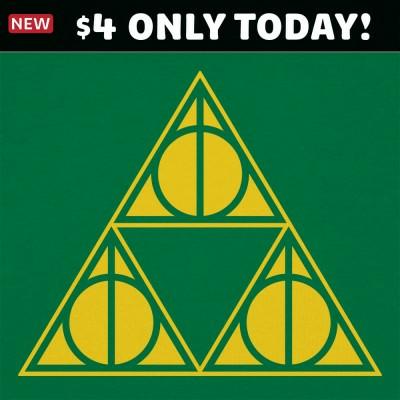 6 Dollar Shirts: Deathly Triforce