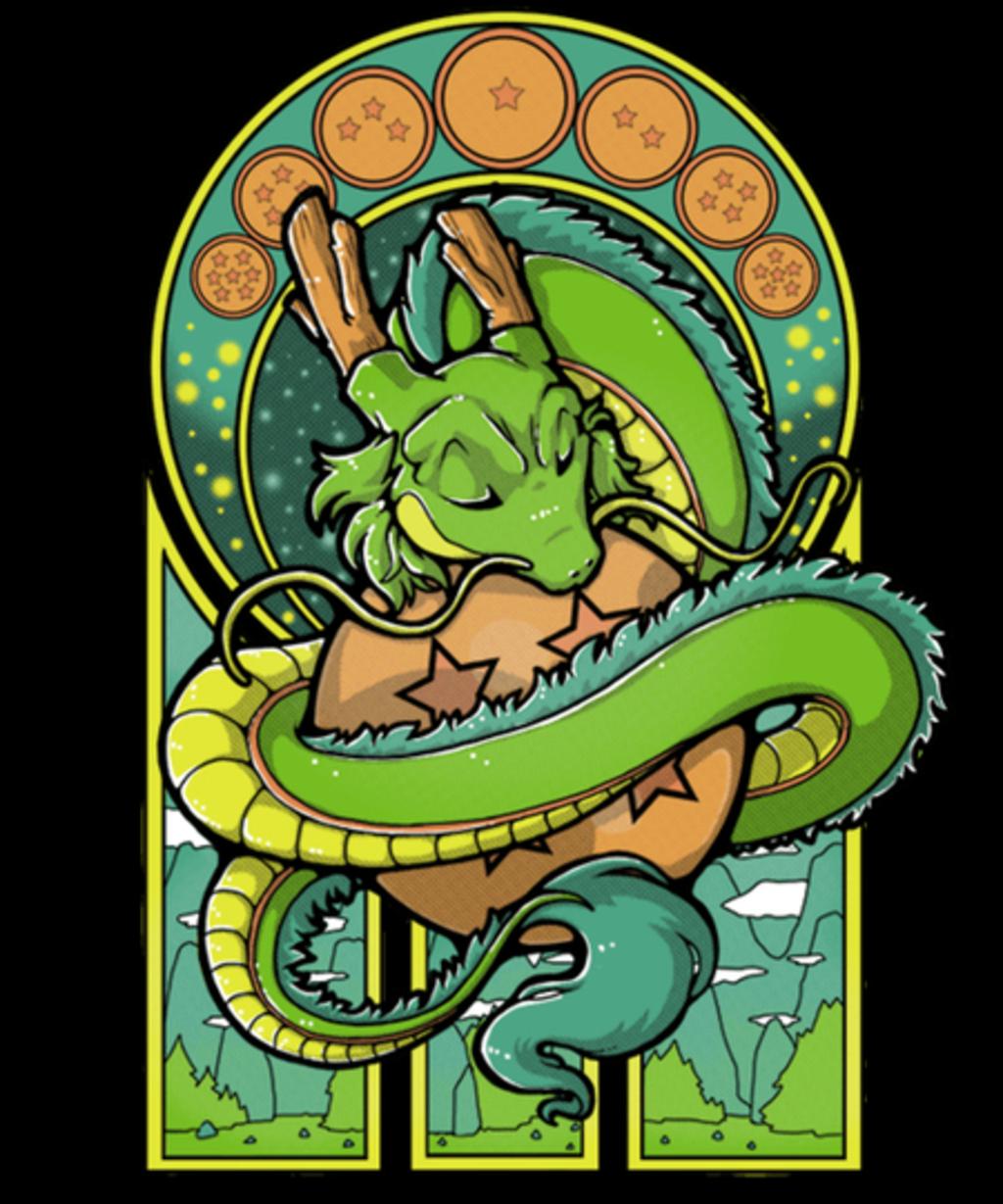 Qwertee: Green Dragon