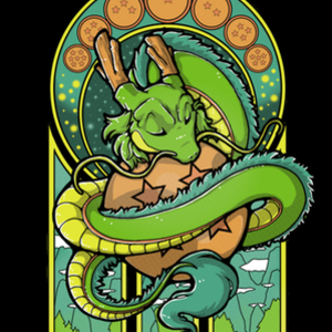 Qwertee: Green Dragon