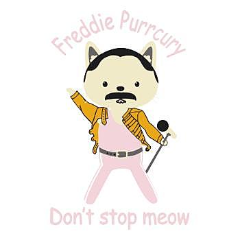 BustedTees: Freddie purrcury t shirt