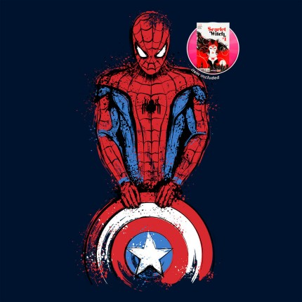 ShirtPunch: The Spider is Coming