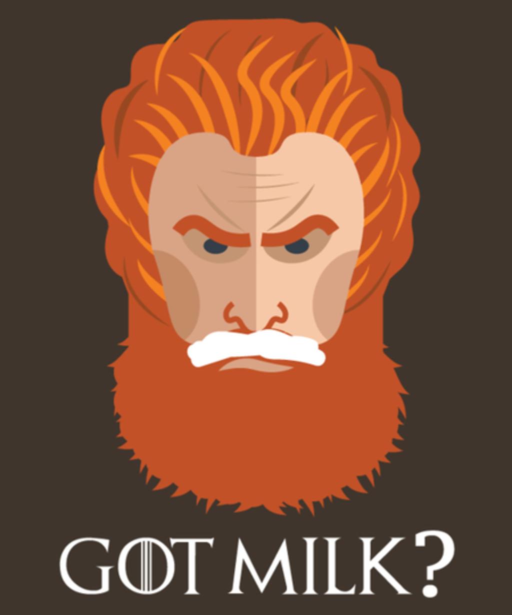 Qwertee: GOT MILK?
