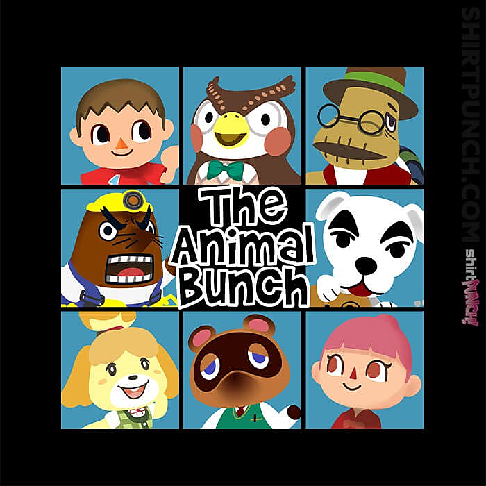 ShirtPunch: The Animal Bunch