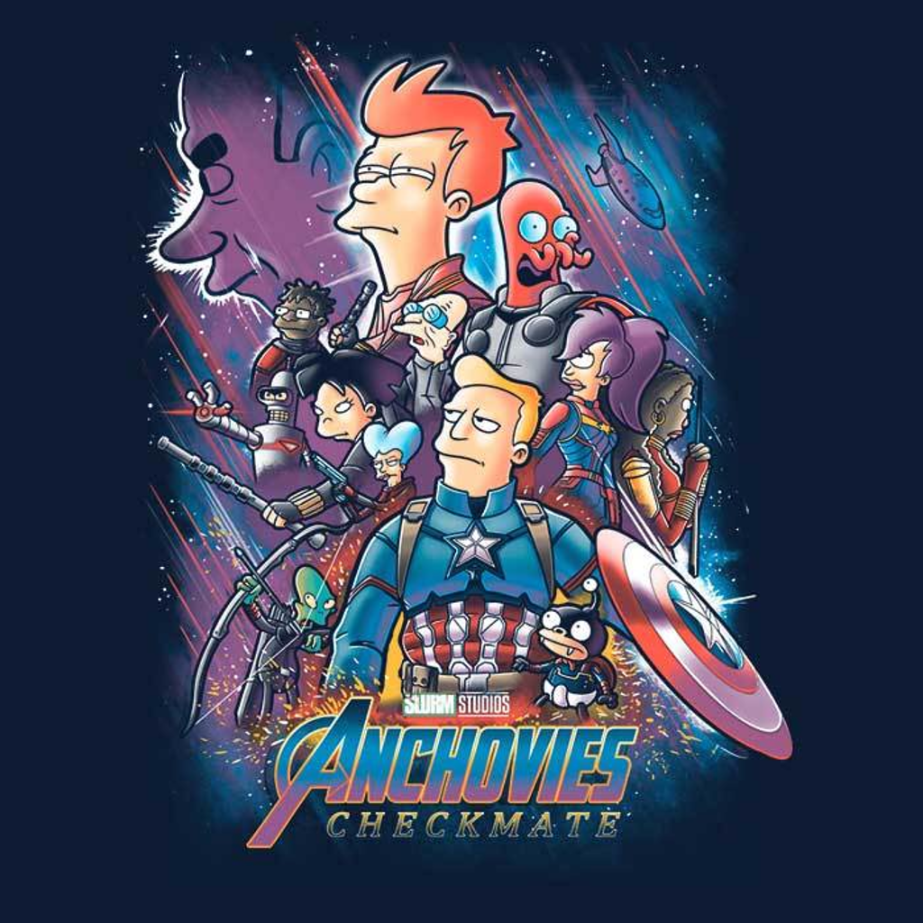 Once Upon a Tee: Anchovies: Checkmate