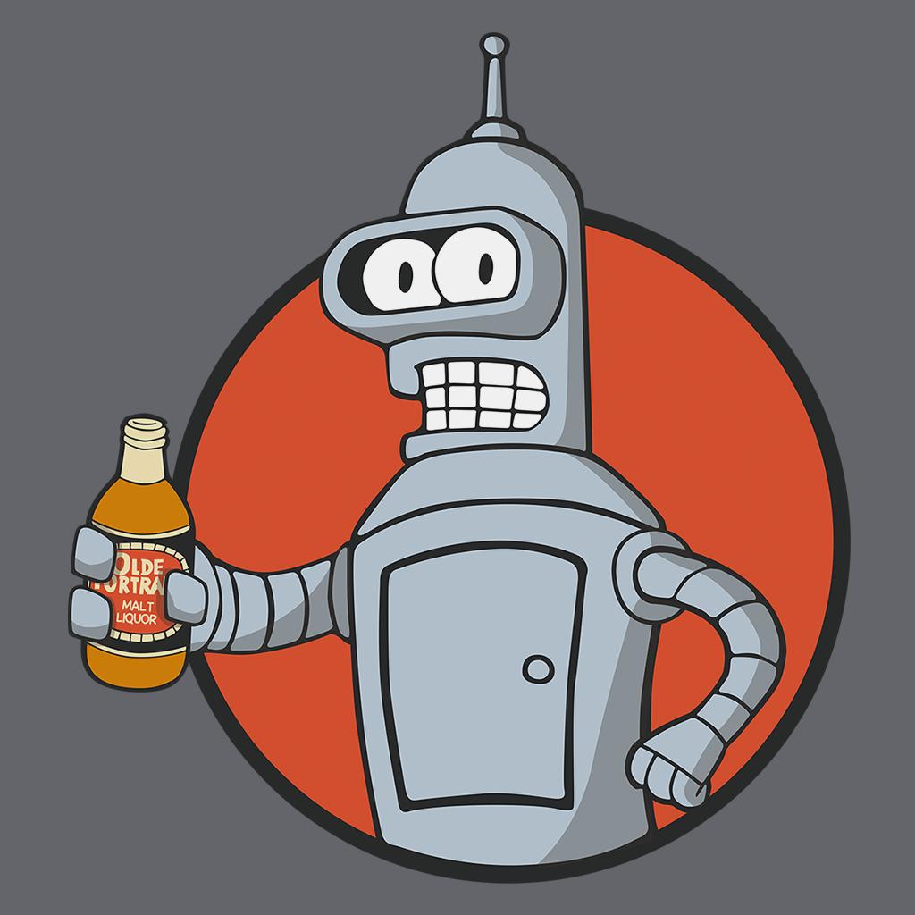 Pop-Up Tee: Vault Bot