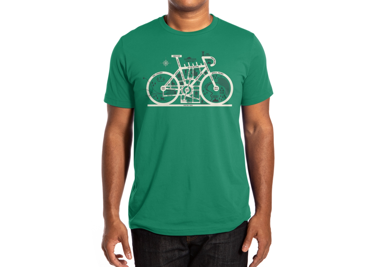 Threadless: Bike City Map