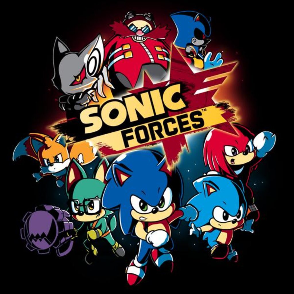 TeeTurtle: Sonic Forces Shirt