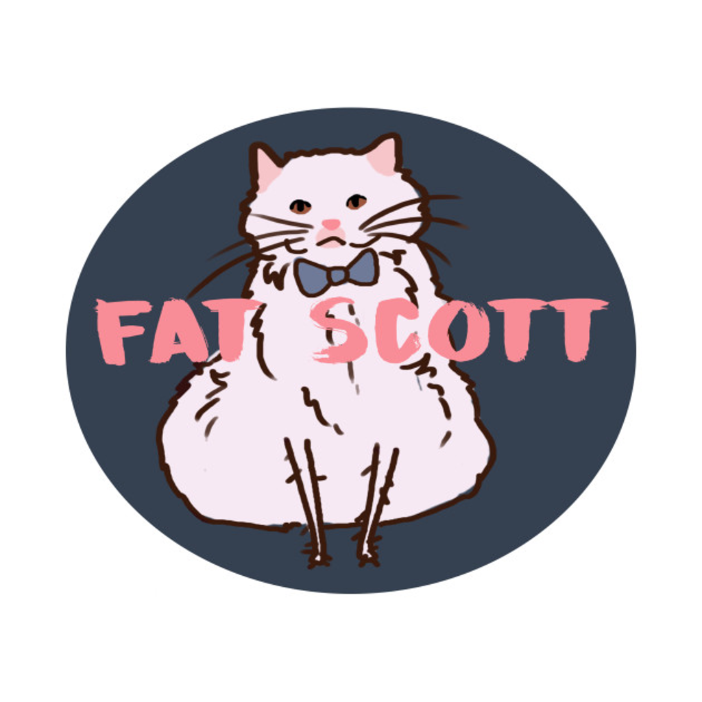 TeePublic: Fat Scott