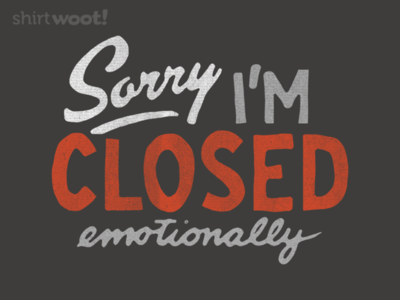 Woot!: Sorry, I'm Closed