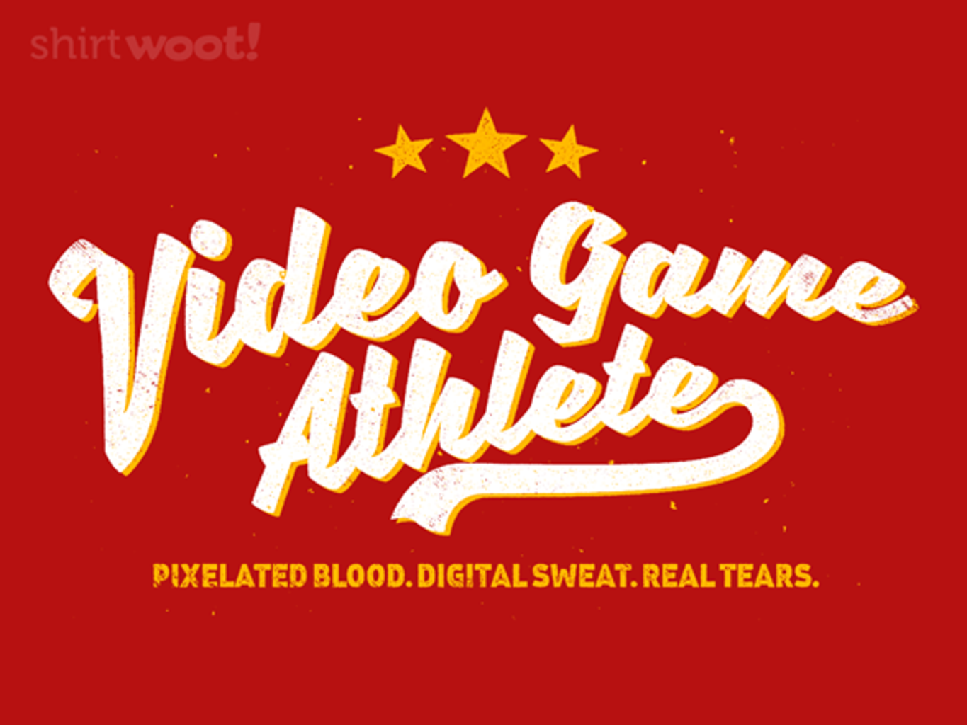 Woot!: Video Game Athlete