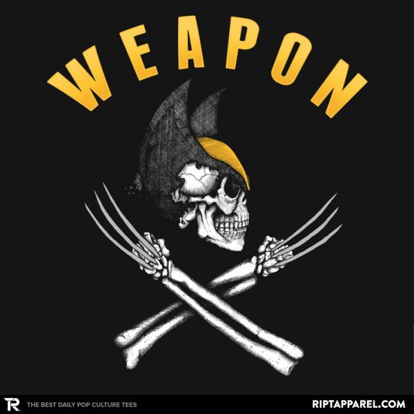 Ript: Weapon X Pirate Flag