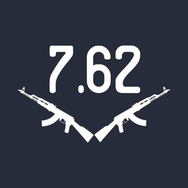 TeePublic: AK-47 7.62 Shirt