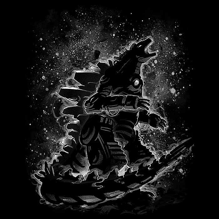Once Upon a Tee: Mech Monster