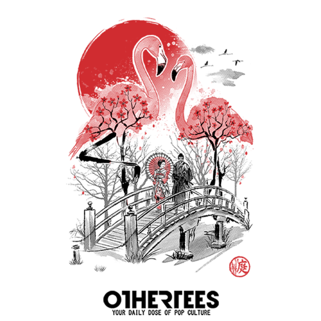 OtherTees: Flamingo Garden